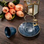 طقم كاسات قهوة مع شاي 18 قطعة image number 4
