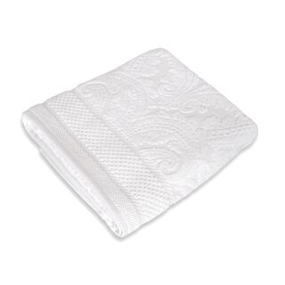 Boutique Blanche Bath Sheet 580Gsm,Aegean Classic White 100X150 Cm