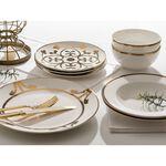 La Mesa Porcelain Dinner Set 16 Pieces Gold image number 3