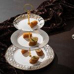 La Mesa 3 Tiers Porcelain Dessert Serving  image number 1
