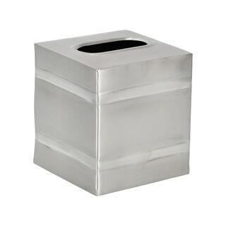 Kiarabath Tissue Box Silver