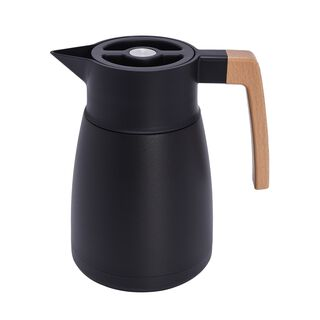 دلة قهوة ستانليس ستيل لون أسود