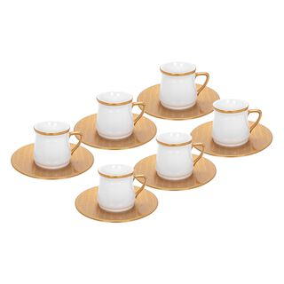 Turkish Coffee Set Gold