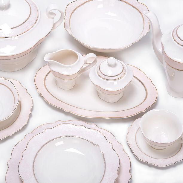 85 Pcs Porcelain Dinner Set image number 1