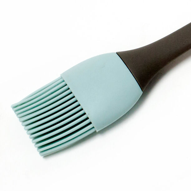 Alberto Silicone Brush With Soft Hand Brown And Blue image number 1