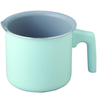 Non Stick Milk Pan With Handle Green