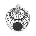 Wire Aluminum And Iron Lantern Black image number 2