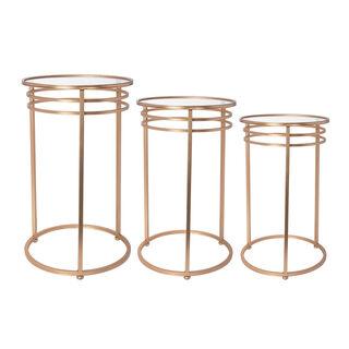 Flower Table 4Cm Gold