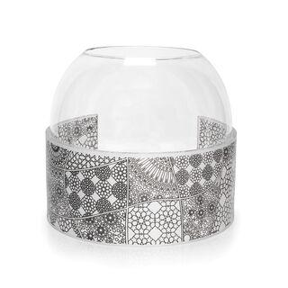 Abundance Round Vase Glass And Acrylic