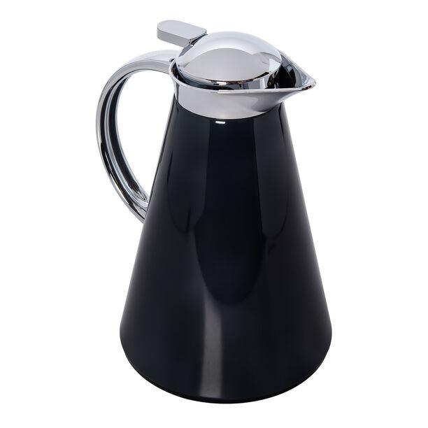 Dallety Steel Vacuum Flask Sahara Metallic Black 1L image number 1