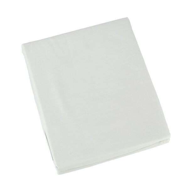 Fitted Sheet 200X200+35 Ice Blue 100% Cotton image number 1