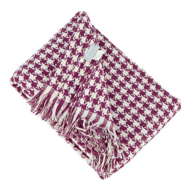 Cottage Cotton Throw 160X200Cm Purple image number 1