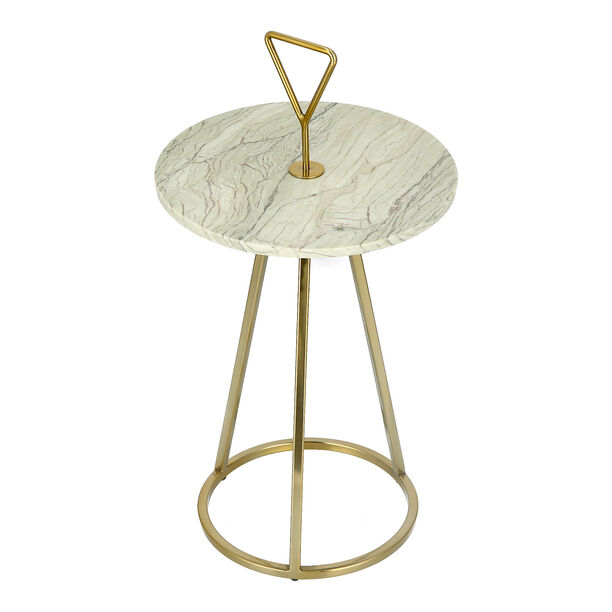 Side Table Marble Top image number 2
