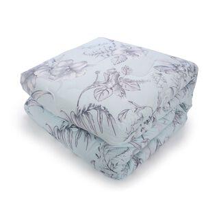 Cottage Comforter Set 5 Piesec King Size Set Uskudar Ice Blue