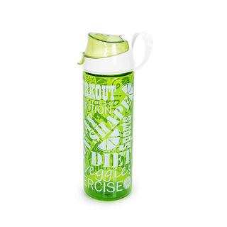 Herevin Plastic Sports Bottle  V-0.75L -  Work Out Design