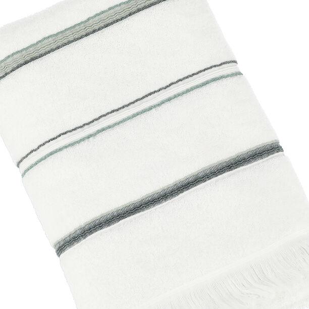 Bath Towel Stripe White image number 2