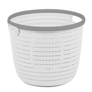 Rattan Round Storage Basket 13L