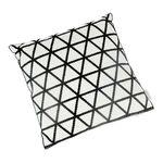 Embroidery Cushion Santorini Triangle image number 0