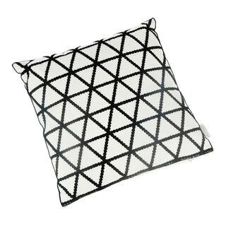 Embroidery Cushion Santorini Triangle