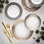 18 Pcs Fine Bone Porcelain Dinner Set Serve 6 Persons image number 0