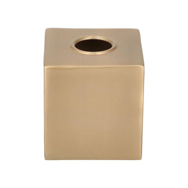 Maddie Bath Tissue Box Gold image number 1