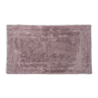 Cottage Cotton Bathmat Purple