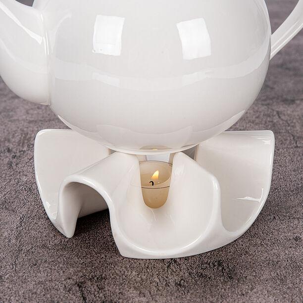 Pot Warmer Porcelain Arch White image number 2