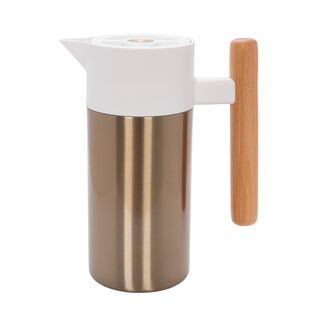Dallety Steel Vacuum Flask Nature Matt Gold 1.2L