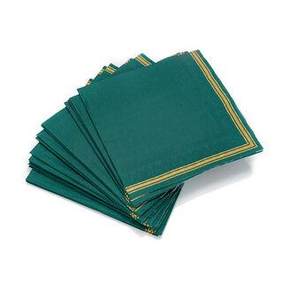 Ambiente Serving PaperNapkinsLea Design Green Color