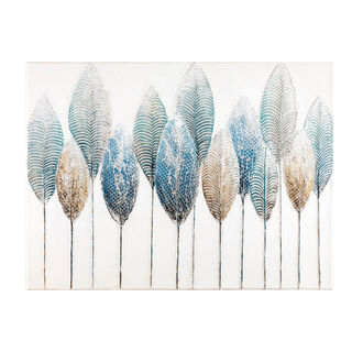 Canvas Wall Art Painting Leaf