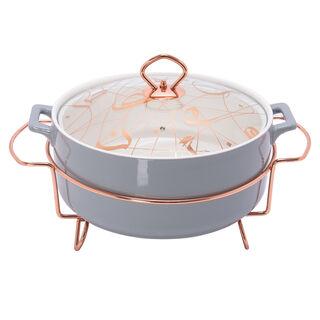 "Round Food Warmer Sunbuli 12"""