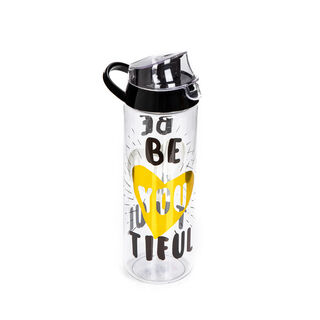 Herevin Plastic Sports Bottle V:0.75L Beautiful Gold Design