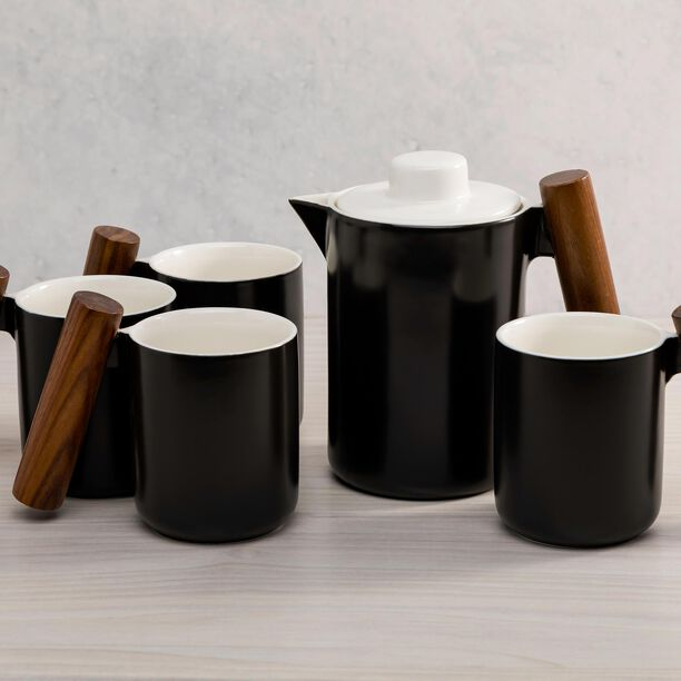 5 Pieces Tea Set  image number 2