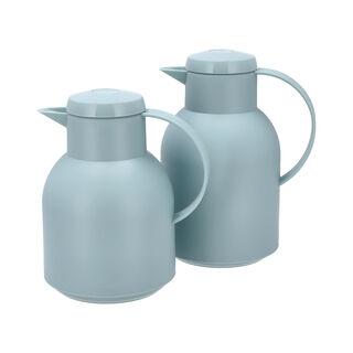 2Pcs Plastic Vacuum Flask Sampa Either