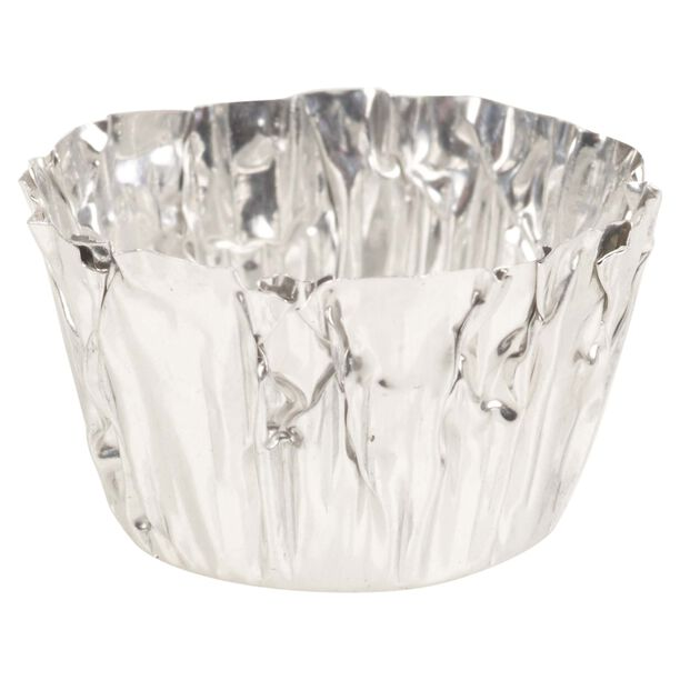 Candle Cups Set Of 60 Aluminum Clear image number 1