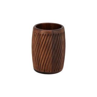 Acacia Wood  Cutlery Holder Walnut