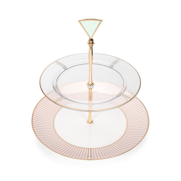 blush 2 Tiers Cake Stand image number 3