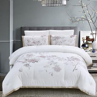 Mirage Flowers Comforter King Size 5 Pcs