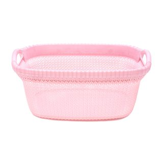 Knit Laundry Basket 37L