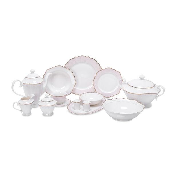 47 Pcs Porcelain Dinner Set image number 0