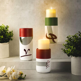 Candle Holder Arab Graph