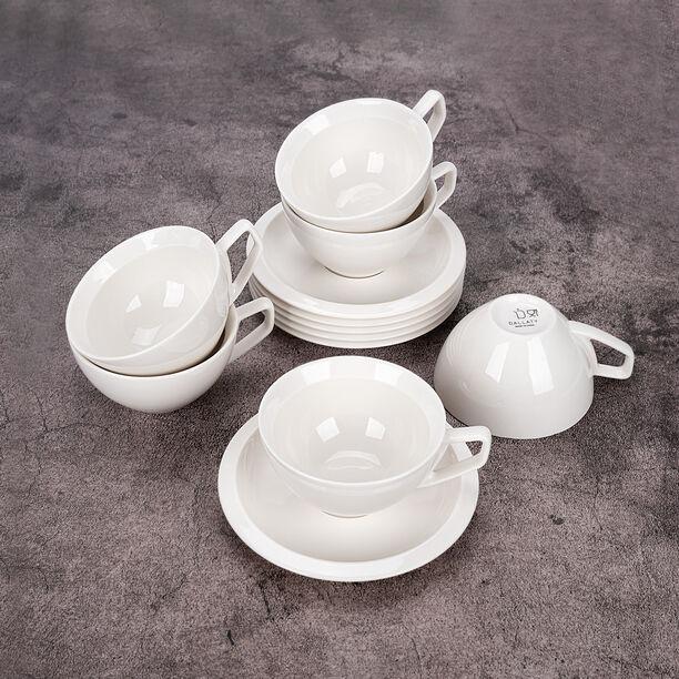 English Tea Cups Set White 250 Ml image number 2