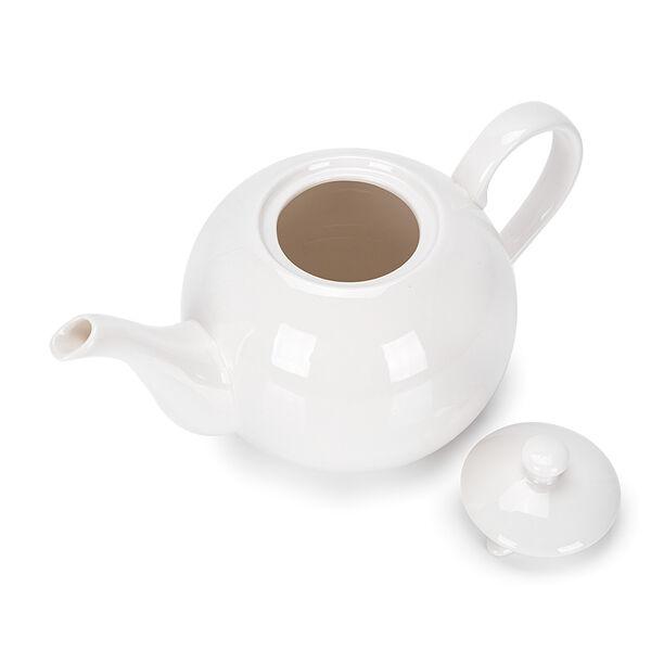 English Tea Pot White image number 2