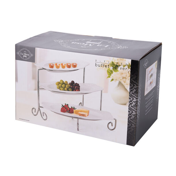 3 Tiers Serving Stand 39.4X21X3.3(H)Cm image number 2