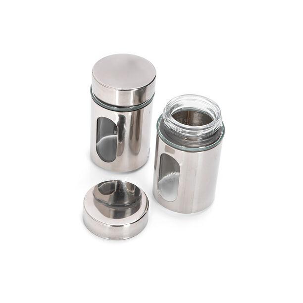 Alberto 2 Pieces Metal Salt And Pepper Set image number 2