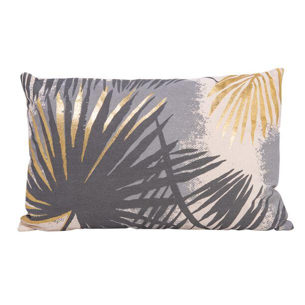 Cushion Cotton Gold Foiler Print 30X50 Cm image number 0