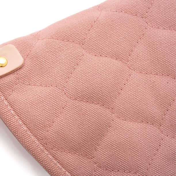 Alberto® Oven Glove Cotton With Leather Ring Pink  image number 1