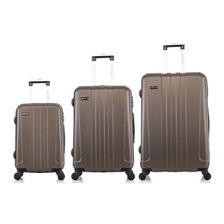 Travel Vision 3 Pieces Set Champagne 20/24/28""