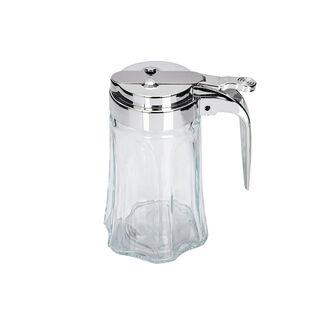 موزع للشيرة زجاج شفاف