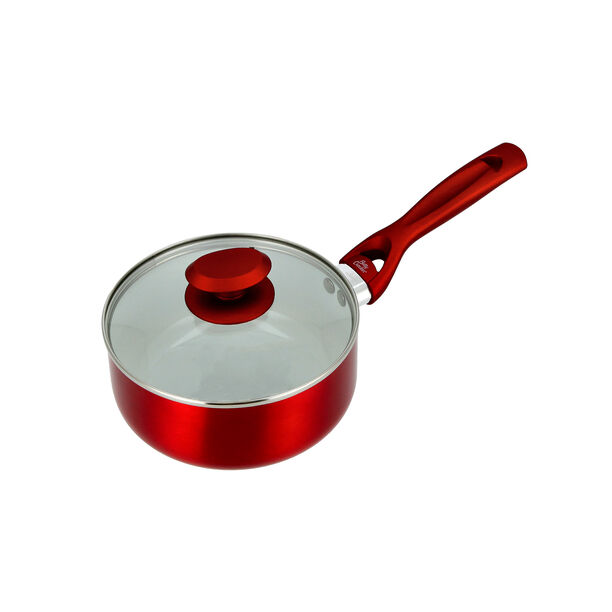 Non Stick Sauce Pan with Glass image number 3